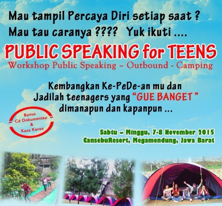Public Speaking for Teens