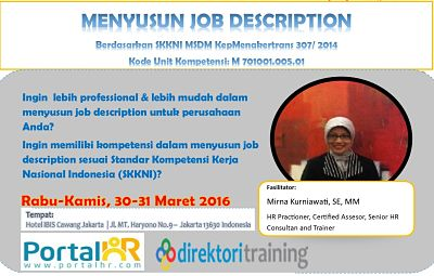Cara Menyusun Job Description