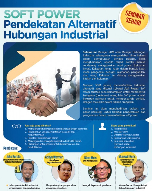 Training Soft Power – Pendekatan Alternatif Hubungan Industrial