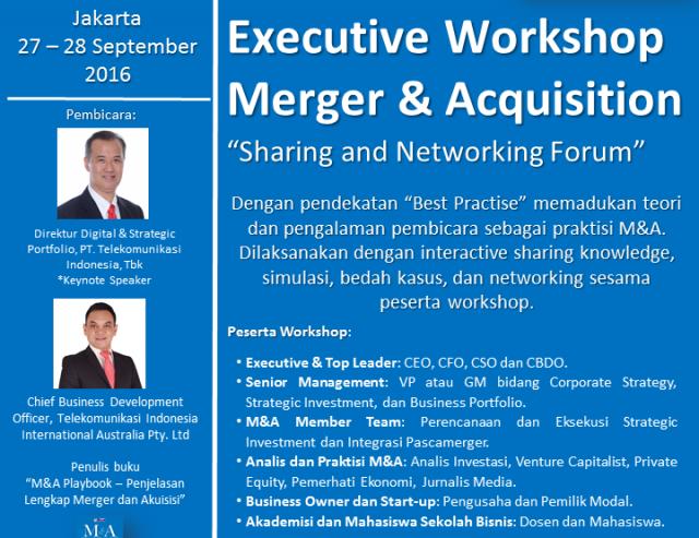 Executive Workshop Merger & Acquisition