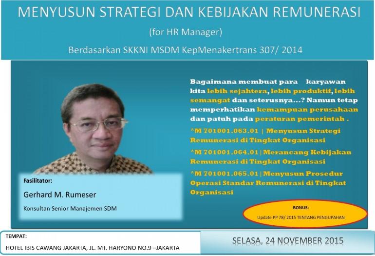 Strategi dan Kebijakan Remunerasi